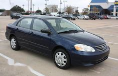 Toyota Corolla 2001 Sedan Blue for sale