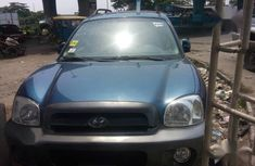 Hyundai Santa Fe 3.5 GLS4WD 2006 Blue for sale