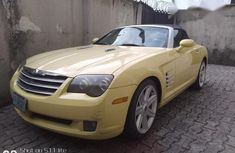 Chrysler Crossfire 2002 Automatic Yellow for sale