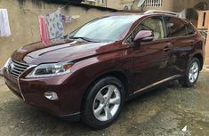 Lexus RX 350 AWD 2014 Red for sale