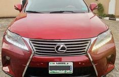 Lexus RX350 2015 AWD Red for sale