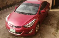 Hyundai Elantra 2013 Red for sale