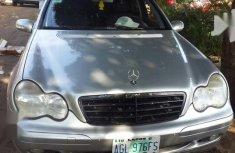 Mercedes-Benz C180 2001 Silverfor sale