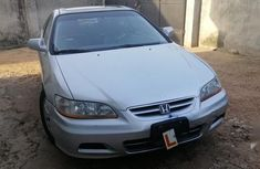 Honda Accord 2001 Coupe Silver for sale