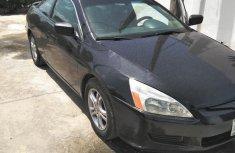 Honda Accord Coupe EX V6 2005 Black for sale
