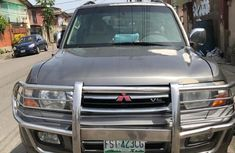Mitsubishi Montero 1999 Gray for sale