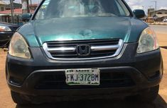 Honda CR-V 2003 2.0i ES Automatic Green for sale