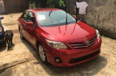 Toyota Corolla 2013 Redfor sale