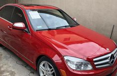 Mercedes-Benz C350 2009 Red for sale