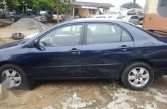 Very clean Toyota Corolla 2002 Blue color for sale