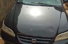 Honda Accord EX Automatic 2002 Black for sale