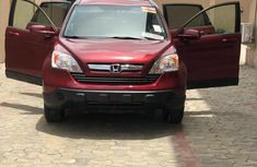 Honda CR-V 2007 EX 4WD Automatic Red color for sale