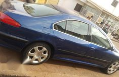 Very good Peugeot 607 2000 Automatic Blue color for sale