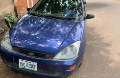 Full Option Ford Focus 2004 Blue color for sale
