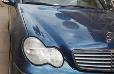 Mercedes-Benz C230 2001 Blue for sale