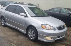 Automatic Transmission Toyota Corolla 2002 Silver color for sale