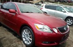 2008 Lexus GS Red for sale