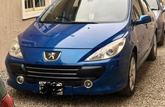 Very clean Peugeot 306 2005 Blue color for sale