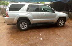 Toyota 4-Runner 2004 Limited Silver color for sale