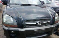 Hyundai Tucson 2008 Black color for sale in pristine condition