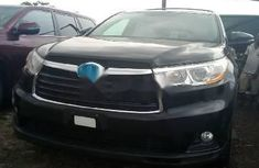 2017 Toyota Highlander Automatic Petrol Black for sale