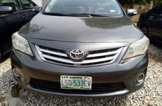 Good engine Toyota Corolla 2013 Black  color for sale