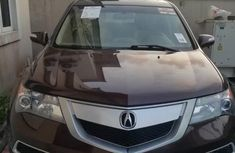Acura MDX 2010 cheap luxury brown color for sale