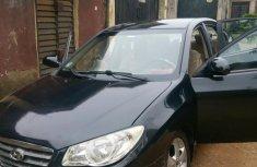 Hyundai Elantra 2008 1.6 GLS Automatic Black color for sale
