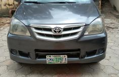 Neat Nigerian used Toyota Avanza 2008 Gray color for sale