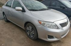 Toyota Corolla 2011 Silver for sale