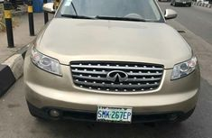 Very clean Infiniti FX 45 2003 Gold color for sale