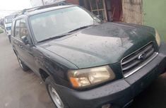 Subaru Forester 2003 Green for sale