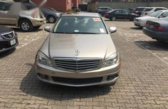 Mercedes-Benz C300 2009 Silver color for sale