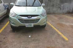Limited Edition Hyundai Tucson 2010 Green color for sale
