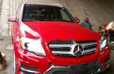 Mercedes-Benz GLK 2014 Red for sale
