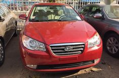 Hyundai Elantra 1.6 GLS Automatic 2008 Red color for sale