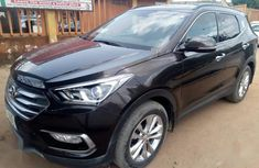 Hyundai Santa Fe 2017 Black for sale