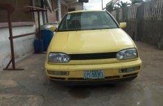 Volkswagen Golf 1998 Yellow for sale