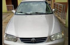Toyota Corolla 2001 Sedan Gray  for sale