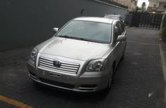 Toyota Avensis 2006 Silverfor sale
