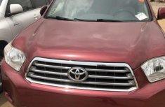 Toyota Highlander Limited 4x4 2008 Beige for sale