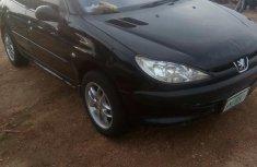 Peugeot 206 1999 Black for sale