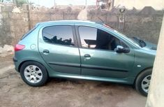 Peugeot 206 2004 CC Automatic Green for sale