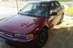Honda Accord 1993 Red for sale
