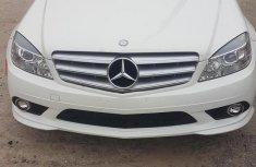 Mercedes-Benz C300 2010 White color for sale