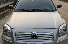 Toyota Avensis 2.0 D-4D 2005 Gray for sale