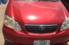 Toyota Corolla 2008 1.8 LE Red for sale