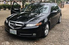 Acura TL 2008 Automatic Black  for sale