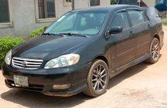 Toyota Corolla Sedan Automatic 2003 Black color for sale