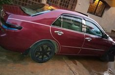 Honda Accord 2004 Buy and Drive Red color for sale